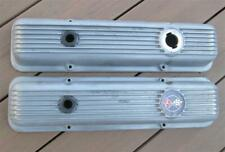 1969 Camaro Z/28 & Corvette Finned Aluminum Valve Covers 3932418 No Drippers WOW