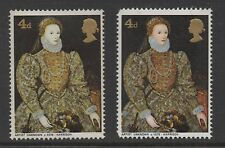 1968. Paintings. SG771b. 4d vermillion omitted error. Unmounted mint. Cat £700.