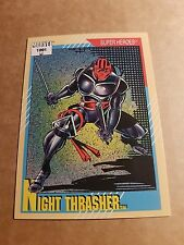 MARVEL UNIVERSE 1991 SERIES 2 CARD #22 NIGHT THRASHER