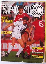 SPORT 80 du 15/10/1986;Nico Claesen/ Repcic/ Gille et Rik Coppens/ Crozer Gyorgy