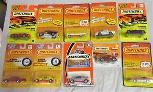 10 Various Matchbox Vehicles                                             Diecast