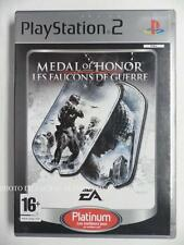 COMPLET jeu MEDAL OF HONOR LES FAUCONS DE GUERRE platinum playstation 2 PS2 fps
