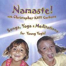 NEW Namaste! Songs, Yoga & Meditations for Young Yogis, Children, & Families!