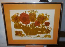 "David Weidman Signed and Numbered ""New Hope"" Nicely framed & matted 9/250 1978"