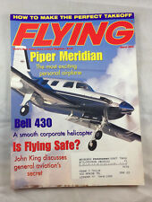 Piper Meridian Bell 430 March 2001 Flying Magazine Airplane Aviation