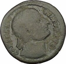 CONSTANTINE I the GREAT Heaven Gazing Very rare Ancient Roman Coin i39107