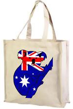 Australian Flag Koala Cotton Shopping Bag, FLAGS - Choice of Colours.