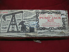 Vintage Primitive Oilfield Pump Jack Wooded Model Kit