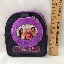 Destiny's Child VTG Mini Backpack CD Case Holder 90's