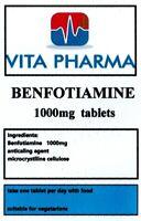 Max Stärke Benfotiamine 1000mg 60 Tabletten Blutzucker Fat Löslich B1