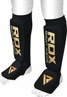 RDX MMA Shin Instep Guards Protector Pads Kick Boxing Muay Thai Training TKD