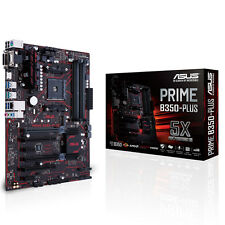 ASUS B350-Plus Gaming Mainboard Sockel AM4 (ATX, AMD, Ryzen, DDR4, Sata)