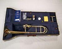 Bach Artisan Stradivarius Trombone A47I Infinity Axial Flow Valve GoldBrass Bell