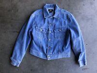 RRL Ralph Lauren Denim Jean Jacket sz Large Blue Made in USA