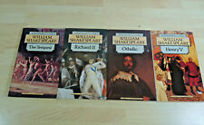 4x William Shakespeare: Othello, Henry V, Richard II, The Tempest / Englisch