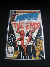 Daredevil #175 VFNM White Pages Miller Art Elektra Appearance The End