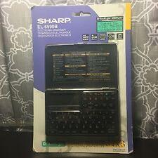 Sharp EL-6590B Memo Master 32kb Electronic Organizer New Sealed!