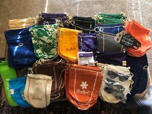 May 14 crown royal bags supermarket,yellow, blue,  grey & more-price per BAG