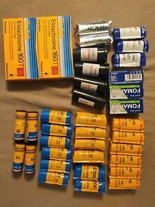 Film 120 - Ektachrome New (2022) and old (2006/2004/2006) cinestill 800T, velvia