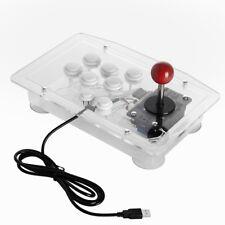 Arcade Joystick Schalter Panel Videospielautomat USB Computer TV Box Rocker