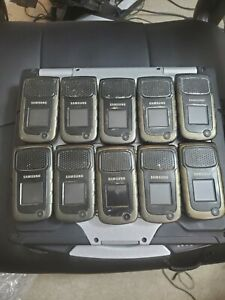 SAMSUNG RUGBY 2 SGH-A847 CELL PHONE (Canadian Network Locked) lot of 10