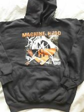 MACHINE HEAD Supercharger Tour 2001 Hoodie Vintage Collectors Small
