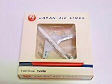 Aircraft Diecast AeroClassics Japan Airlines JAL CV-880 JA8024 KIKU 1:400 Rare