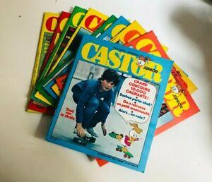 Lot Castors Juniors Magazine 1 à 10 !!! 9 numéros RARE TRÈS BON ÉTAT !!