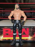 SETH ROLLINS SHIELD WWE Mattel action figure BASIC kid toy PLAY Wrestling WHITE