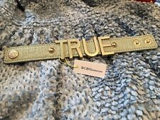 BRAND NEW Mint Green BCBGeneration Large Affirmation Bracelet TRUE
