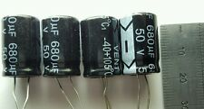 4 X 50v 680uf condensadores-Lcd / Plasma Tv Kit de reparación reemplazo 25v 35v Esr