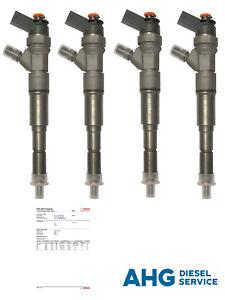 4x Injektor Bosch Einspritzdüse Hyundai i10 i30 Matrix Kia Ceed 0445110256