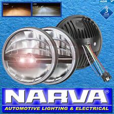 "NARVA LED 7"" HEAD LAMPS LIGHTS FORD HOLDEN CHEV JEEP LAND ROVER 72102"