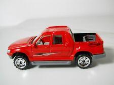 Matchbox Ford Explorer Sport Track Red Paint HTF JC51