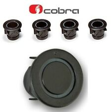 Cobra R0194 4 Way Auto Einparkhilfe Rückfahrwarner Sensor Kit 25mm schwarz A0158