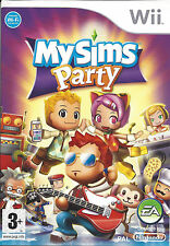 MYSIMS MY SIMS PARTY for Nintendo Wii - with box & manual - PAL