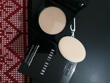NIB Bobbi Brown SHEER FINISH Pressed Powder in WARM NATURAL #6 swatched once