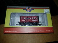 OO gauge Oxford Railways Rollingstock wagons