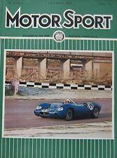 Motor Sport magazine 02/1966 featuring Porsche 911, BMW 1800Ti road test