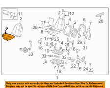 GM OEM Front Seat-Cushion Bottom Cover 22751125