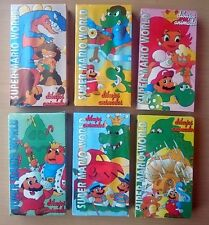 SUPER MARIO WORLD - VHS - DIBUJOS ANIMADOS - COL. 6
