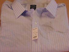NWT Brooks Brothers Non-Iron Supima Cotton Dress Shirt Sz 20-38/39 New