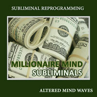 Millionaire Mind Subliminal Hypnosis - Think Like a Millionaire Subliminal CD