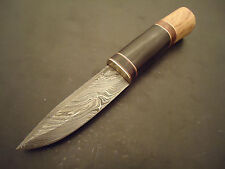 """Pioneer Custom Made Damascus Steel Hunting Knife,With Horn 10""""Pt-2311"""