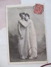 CPA FANATAISIE ACTRICE 1900 - OPERA (TANNHAUSER) - CARRE & ZUCCHE