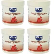 Elina MED gel au feuilles de la vigne rouge - 4 x 250ml NEUF