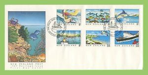 New Zealand 1989 Heritage Issue, Coastal life First Day Cover