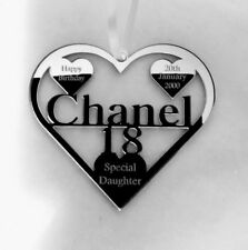 18TH BIRTHDAY GIFT FOR CHANE; OR ANY NAME PERSONALIED WITH NAME AND DATE