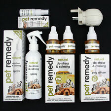More details for pet remedy calming spray/diffuser/refill helps dog cat horse bird stress - rspca