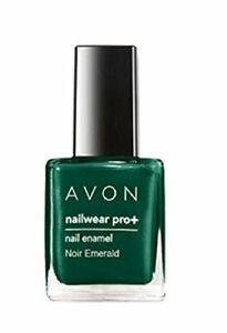 Avon Color Nailwear Pro+ Noir Emerald 8 ml Free Shipping